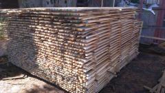 Брус деревянный из дуба