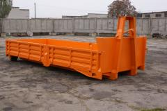 The container metal roller (retractable) open type