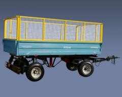 PTS-4 trailers to With the Loading capacity of 4 t