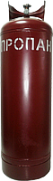Cylinder of gas 50 l VB-2 gate
