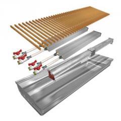 Внутрипольный конвектор Polvax с вентилятором для