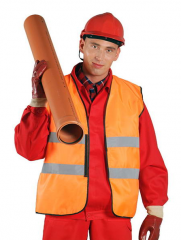 Overalls for railroad workers, a uniform for