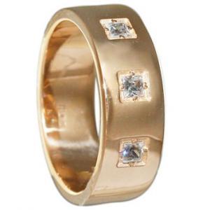 Кольцо обручальное, золото Au 585° пробы со