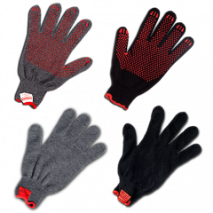 Heat-resistant gloves from thermal influence of