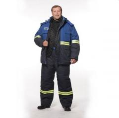Suit winter H/z-8 for protection against