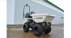 The Terex TA1EH mini-dump truck with the increased unloading heigh