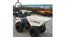 The Terex TA1.2 mini-dump truck with the increased unloading heigh