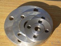 Flanges steel flat GOST 12820-80 Du25 Du1500 Ru16