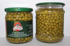 Peas of green tinned 400 g