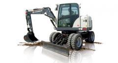Compact wheel TW70 excavator
