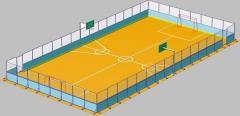 Universal sports ground