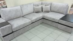 Angular sofa CAEN-CAEN, a soft corner, a photo of