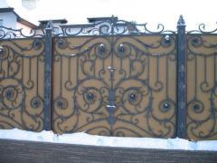 Ворота кованые Арт 9