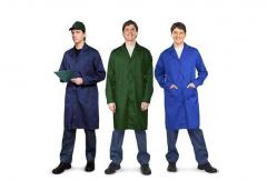 Халаты для рабочих, халаты х/б, от производителя,