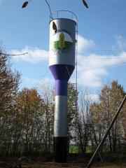 Водонапорная башня Рожновского для питьевой воды