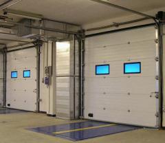 Ворота автоматические для паркингов