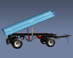 Прицеп тракторный ПТС-4 грузоподъемностью 4 тн для