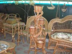 Мебель изделия из лозы