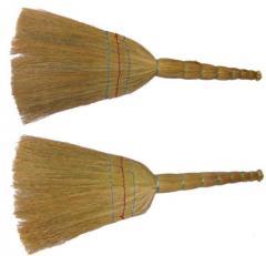 Sorghum brooms harves