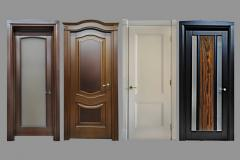 Wooden interior doors,  which you will...