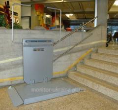 Elevators for transportation of disabled people