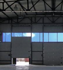 Ворота автоматические для складских комплексов