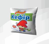 """Кефир 2,5% жирности, емкость 500 гр в полиэтиленовой пленке, ТМ """"Любимчик"""""""