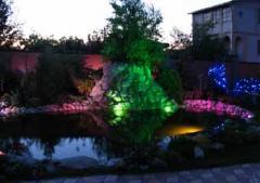 Ландшафтное освещение - светодиодный прожектор