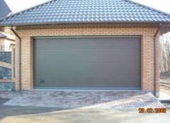 Ворота секционные гаражные, Воротные системы