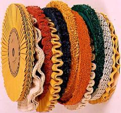 Circles for polishing, a matting, hot-pressings,