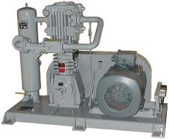 Агрегат компрессорный комплектный тип FAS для стационарного использования (Агрегаты компрессорно-конденсаторные)