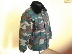Jacket for the military personnel winter