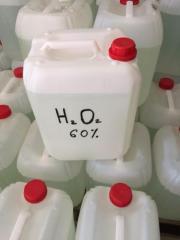 Hydrogen peroxide 35%, 50%, 60%