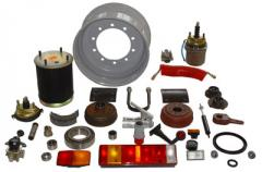Spare parts for semi-trailers