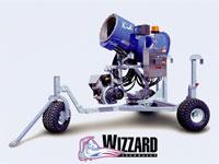 Generators of snow, system of artificial snow