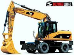 Tires for wheel excavators 9.00-20, 10.00-20,
