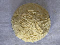 Cornmeal of a high milling. Color is yellow. GOST