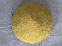 Cornmeal of a coarse grinding. Color yellow GOST