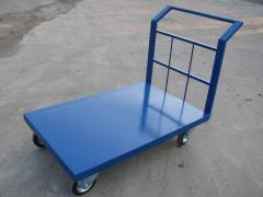 The cart platform for the warehouse