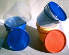 Bucket with a capacity of 1000 ml.