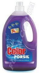 Гель для стирки цветного FORSIL COLOR GEL  3Л