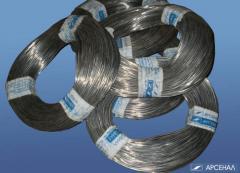 La soldadura en el lingote de metal, el alambre