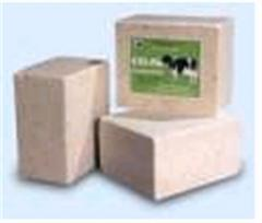 Salt in briquettes for animals