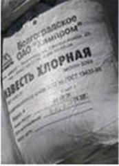 Hlorne vapno. Bleaching powder. Russian production