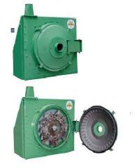 Всасывающая зернодробилка  RVS/RSI c нагнетателем