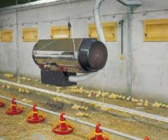Heating of hen house