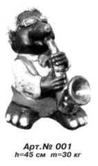 Mole with a saxophone Arth. No. 001