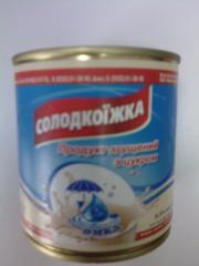 Продукт молочный ТУ ж/б