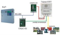 Контроль роботоспособности извещателей на...
