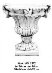 Vase flower bed of Art.No. 198